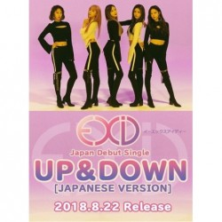 EXID UP&DOWN[JAPANESE VERSION]