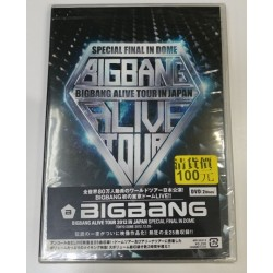 DVD BIGBANG ALIVE TOUR 2012...