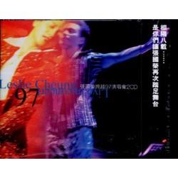 張國榮 LESLIE CHEUNG 跨越97演唱會 CD