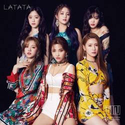 (G)I-DLE LATATA 初回盤A CD+DVD 台版