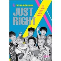 GOT7 JUST RIGHT 【CD+DVD+雙卡豪華盤】