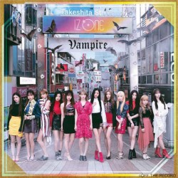 IZ*ONE Vampire CD+DVD 初回版A