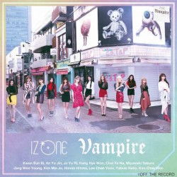 [台版]IZ*ONE Vampire CD+DVD 初回版B