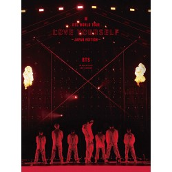 初回DVD BTS World Tour ' Love...