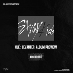 STRAY KIDS - CLE : LEVANTER...
