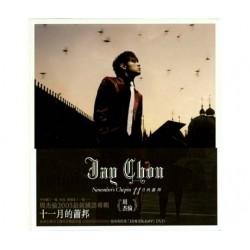 周杰倫 十一月的蕭邦 CD+DVD
