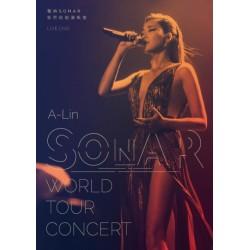 A-LIN 聲吶SONAR世界巡迴演唱會LIVE 2DVD