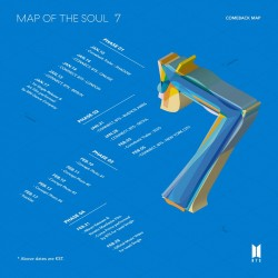 BTS - MAP OF THE SOUL :7韓版