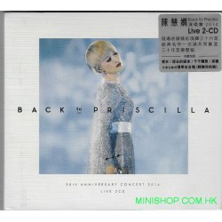 陳慧嫻 Back To Priscilla Live 2CD