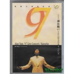 譚詠麟 97金曲回歸演唱會 卡拉OK  DVD