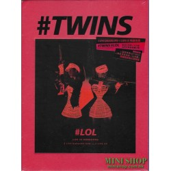 TWINS LOL LIVE IN HK (3DVD...