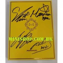 簽名版 MAMAMOO - YELLOW FLOWER...