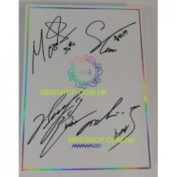 簽名版MAMAMOO - WHITE WIND...