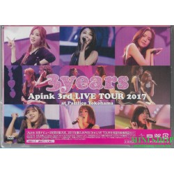 DVD Apink 3rd Japan TOUR...