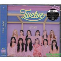 IZ*ONE Twelve [Type B, CD+DVD]