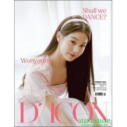 [代訂] 韓國雜誌 封面 張員瑛  D-ICON...