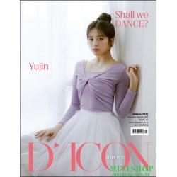 [代訂] 韓國雜誌 封面 安兪真  D-ICON...