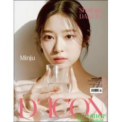 [代訂] 韓國雜誌 封面 金玟周  D-ICON...