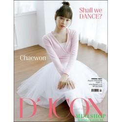 [代訂] 韓國雜誌 封面 金采源  D-ICON...