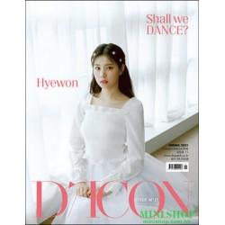 [代訂] 韓國雜誌 封面 姜惠元  D-ICON...