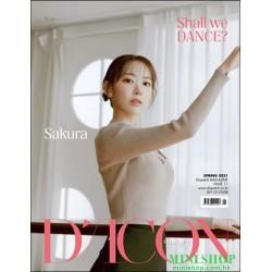[代訂] 韓國雜誌 封面 宮脇咲良  D-ICON...