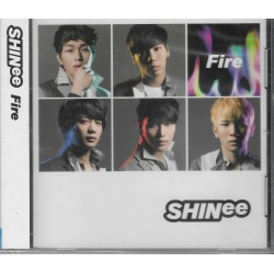 SHINee Fire CD台灣版
