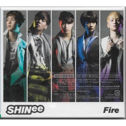 SHINee/Fire(初回限定) 【CD+DVD】 日版