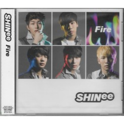 SHINee「Fire」日版
