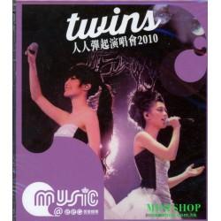 Twins 人人彈起演唱會2010 (2CD) (重新發行)