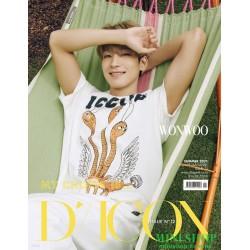 WON WOO 圓佑 韓國雜誌 D-ICON...