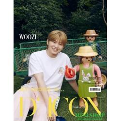 WOOZI 韓國雜誌 D-ICON VOL.18...