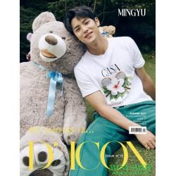 MING YU 珉奎 韓國雜誌 D-ICON...
