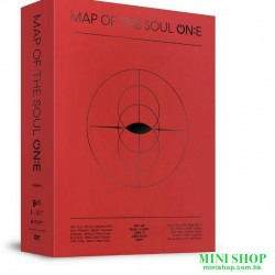 BTS - MAP OF THE SOUL ON:E DVD