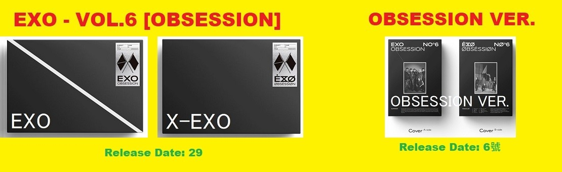EXO - VOL.6 [OBSESSION]